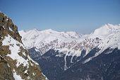 image of sochi  - Mountain landscape of Krasnaya Polyana - JPG