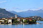 picture of lagos  - view of the famous Lago Maggiore Italy - JPG