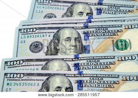A Bundle Of Hundred Dollar