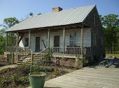image of acadian  - This is an Acadian style home like those used by Cajuns mostly in earlier years - JPG
