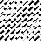 foto of dash  - Seamless geometric zigzag pattern - JPG