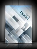 Professional business flyer template or corporate banner design, can be use for publishing, print an