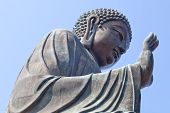 picture of lantau island  - Buddha statue sitting in  - JPG
