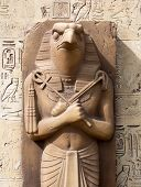 stock photo of horus  - Statue of Ra  - JPG