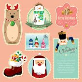 picture of nutcracker  - Christmas decorations element 2 - JPG