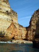 foto of vilamoura  - Picturesque Algarve coast between Lagos and the Cap Vincent - JPG