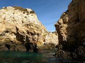 picture of vilamoura  - Picturesque Algarve coast between Lagos and the Cap Vincent - JPG