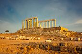 pic of poseidon  - Ruins of Poseidon temple - JPG