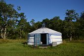 foto of yurt  - Yurt  - JPG