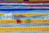 Jul 27 2009; Rome Italy; Aaron Peirsol (USA) competing in the mens 100m backstroke at the 13th Fina
