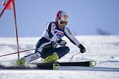 SOELDEN AUSTRIA OCT 25, Nicole Guise ITA  competing in the womens giant slalom race at the Rettenbac