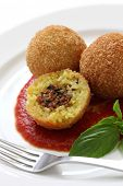 picture of crispy rice  - arancini - JPG