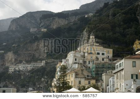poster of Amalfi City Close View, Italy