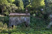 stock photo of boll  - abandoned chapel at Boll in Wutach George - JPG