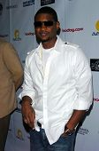 HOLLYWOOD - July 07: Usher at A Midsummer Night's Dream: A Magic Night of Poker, Players and Stars i
