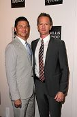 David Burtka, Neil Patrick Harris at the L.A. Gay And Lesbian Center Hosts 'An Evening' honoring Amy
