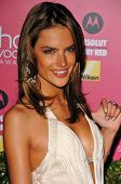 HOLLYWOOD - APRIL 26: Alessandra Ambrosio at the US Weekly Hot Hollywood Awards at Republic Restaura
