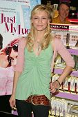 HOLLYWOOD - APRIL 29: Samaire Armstrong at an in store appearance to promote their new movie