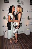 Angie Harmon and Amber Valletta at An Unforgettable Evening Presented by Saks Fifth Avenue, Beverly