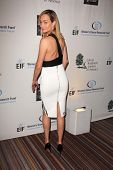 Amber Valletta at An Unforgettable Evening Presented by Saks Fifth Avenue, Beverly Wilshire Hotel, B