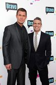 Jeff Lewis and Andy Cohen at the Bravo Media's 2013 For Your Consideration Emmy Event, Leonard H. Go