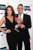Lisa Vanderpump and Andy Cohen at the Bravo Media's 2013 For Your Consideration Emmy Event, Leonard