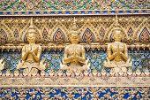 image of garuda  - Garuda in Wat Phra Kaew Grand Palace of Thailand - JPG