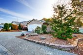 picture of driveway  - House exterior with curb appeal - JPG