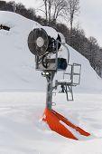 pic of sochi  - Snowgun is on a mountain - JPG