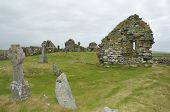 stock photo of chapels  - Tobha Mor Ancient Chapels