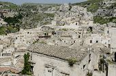 foto of sassy  - View at the buildings in Sassi - JPG