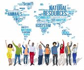 picture of environmental conservation  - Natural Resources Environmental Conservation Sustainability Concept - JPG