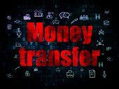 stock photo of transfer  - Finance concept - JPG