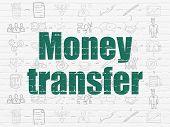 image of transfer  - Finance concept - JPG