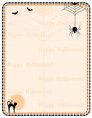 stock photo of happy halloween  - Hallowen background  - JPG