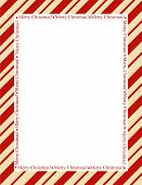 pic of striping  - Retro striped frame with red stripes with merry christmas letters - JPG