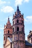 foto of worm  - The Kaiserdom of St - JPG