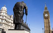 stock photo of prime-minister  - A statue of arguably Britain - JPG