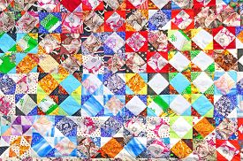 foto of scrappy  - traditional russian patchwork art background - JPG
