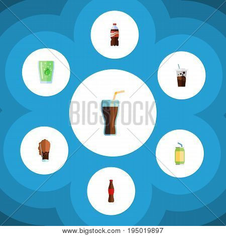 Flat Icon Beverage