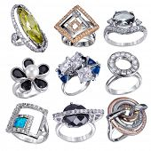 image of white gold  - Stylish jewelry - JPG