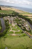 Warkworth From The Air