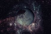 Pluto Is A Dwarf Planet In The Kuiper Belt. poster