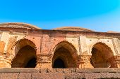Arches Of Rasmancha, Oldest Brick Temple Of India -tourist Attraction In Bishnupur, West Bengal, Ind poster