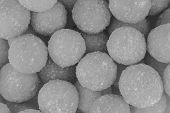 Set Candied Candy Gray Toned Light Many Round Candy Base Design Background Confectionery Site poster