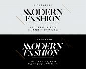 Elegant Alphabet Letters Font Set. Typography Fashion Fonts Classic Style, Regular, Italic Uppercase poster