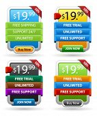 picture of tariff  - Striped web banner - JPG