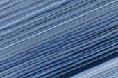 Abstract Colored Background In Blue Tones. Background Of Smooth Blue Stripes. poster