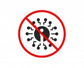 No Or Stop. Info Icon. Information Center Sign. Support System Symbol. Prohibited Ban Stop Symbol. N poster