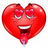 Постер, плакат: В сердце любовь